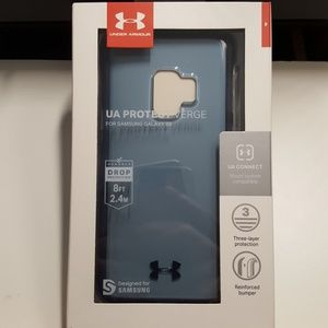 Case under armour for samsung galaxy s9 blue new